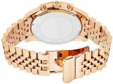 Michael Kors Oversize Rose Golden Stainless Steel Lexington Chronograph Women's watch #MK8319