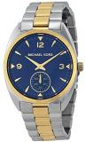 Michael Kors Callie Blue Dial Two-tone Unisex Watch MK3343