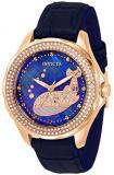 Invicta Wildflower Whale Quartz Crystal Blue Dial Ladies Watch 32671