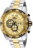Invicta Men's Speedway Quartz Watch with Stainless-Steel Strap, Two Tone, 26 (Mo...