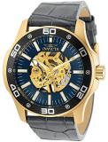 Invicta Specialty Men 45mm Stainless Steel Gold Gold dial Mechanical, 30772