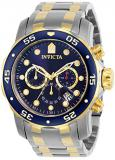 Invicta Men's 0077 Pro Diver Chronograph Blue Dial Watch