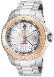 Invicta Men's 16964 Reserve Hydromax Analog-Display Swiss Quartz Silver-Tone Wat...