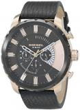 Diesel Men's DZ4347 Stronghold Analog Display Analog Quartz Black Watch