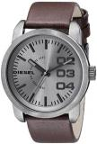 Diesel Men's DZ1467 Double Down Analog Display Analog Quartz Brown Watch