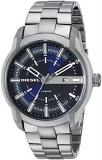 Diesel Men's Armbar Stainless Steel Dress Watch, Color: Grey (Model: DZ1768)
