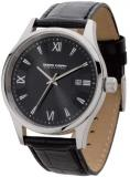 Jorg Gray JS2020 Black Dial and Black Leather Strap Men's Watch